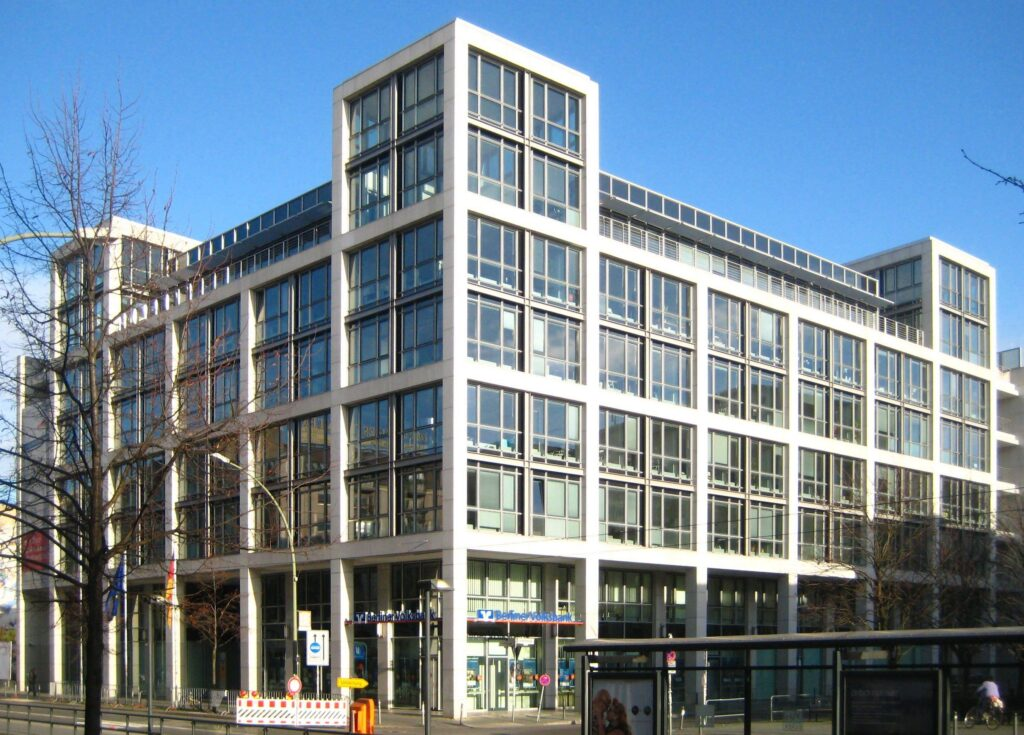 Gebäude des Bundesgesundheitsministeriums in Berlin