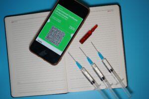 Digital certificate of vaccination